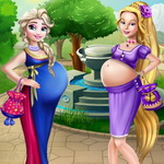 Disney Princess Pregnant Bffs