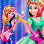 Elsa And Anna Royals Rock Dress