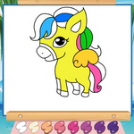 Pony Coloring Book 4