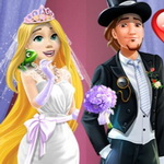 Rapunzel Wedding Party Dress
